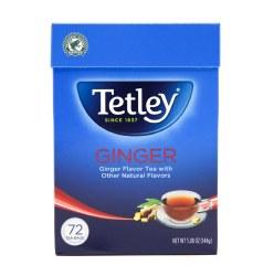 Tetley Ginger Tea 72 Bags