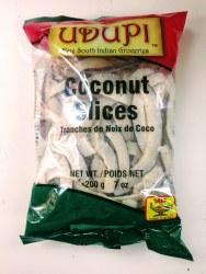 Udupi Coconut Slices 7oz