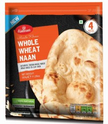 Haldiram Whole Wheat Naan 4pc