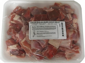 Fresh Halal Goat 2lb