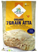 24 Mantra Organic 7 Grain Atta 10lb