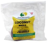 5 Elements Coconut  Whole 1 Pc