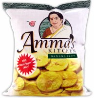 Amma's Banana Chips Mari Black Pepper 400g