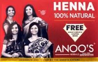 Anoo's Herbal Henna 100g
