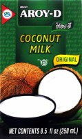 Aroy-d Coconut Milk 8.5oz