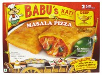 Babu's Masala Pizza 8oz