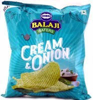 Balaji Cream&onion Wafers 170g