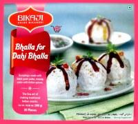 Bikaji Bhalla For Dahi Bhalla 300g