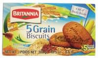 Britannia 5 Grain Biscuit 250g