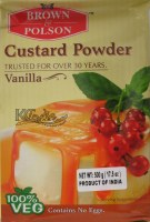 B & P Custard Powder 500g