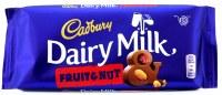 Cadbury Fruit & Nut 110g Dairy Milk