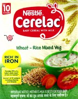 Cerelac Stage 2 Wheat Rice Veg Khichdi 300g