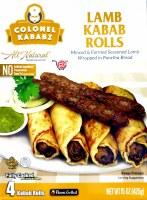Ck Lamb Kabab Rolls 15 Oz