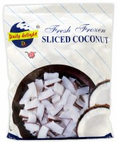 Daily Delight Frozen Sliced Coconut 400g