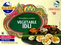 Daily Delight Veg Idli 454g