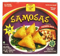 Deep 24 Potato-peas Samosa