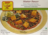 Deep Mutter Paneer 10oz