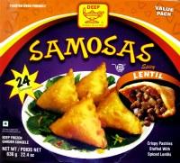 Deep 24 Spicy Lentil Samosa