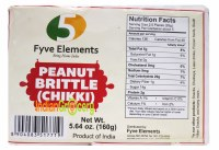 5 Elements Peanut Chikki 160g