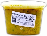 Fresh Ginger Garlic Paste 16oz