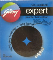 Godrej Expert Black Hair Color Powder 18g