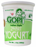 Gopi 2% Fat Yogurt 2lb