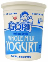 Gopi Whole Milk Yogurt 2lb