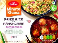 Haldiram's Fried Rice Manchur Combo Meal 280gm