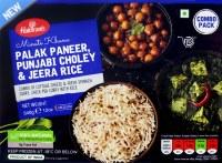 Haldiram's Palak Paneer Thali Punjabi Choley 12oz