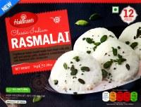 Haldiram's Rasmalai 1kg 12 Pc