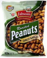 Jabsons Peanuts 140g Chilly Garlic