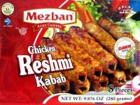 Mezban Chicken Reshmi Kababs 280g