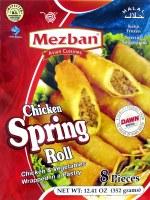 Mezban Chicken Spring Roll 350g