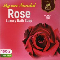 Mysore Sandal Rose Soap 150g