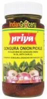 Priya Gongura Onion Pickle 300g