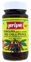 Priya Gongura Red Chilli Pickle 300g