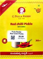 Pulla Reddy Red Chilli Pickle 300g
