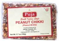 Puja Peanut Chikki 160g