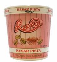 Reena's Kesar Pista 1/2 Gallon