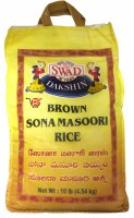Swad Brown Sona Masoori Rice 10lb