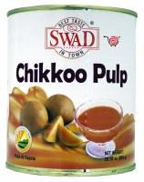 Swad Chikkoo Pulp 850gm