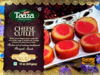 Taaza Cheese Cutlet 400gm