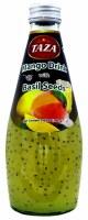 Mango Basil Seed Drink 300ml Taza/roshni