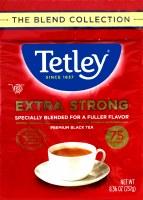 Tetley Extra Strong Tea Bag 75 Black Tea