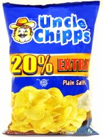 Uncle Chipps Salted 30gm