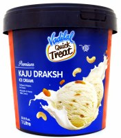Vadilal Kaju Draksh Icecream 1l