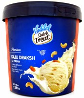 Vadilal Kaju Draksh Icecream 2l
