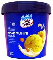 Vadilal Kesar Mohini Icecream 1l