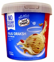 Vadilal Kajudraksh No Sugar 1l Icecream