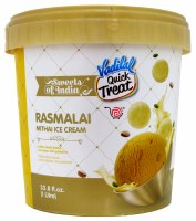 Vadilal Rasmalai Icecream 1l